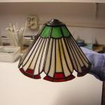 glas en koperfolie (werk van cursist) glasatelier vetro colorito kunstpost den haag mariahoeve bezuidenhout haagse hout haaglanden