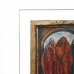Andrzej Wawrzyniak 2 iconen schilderen