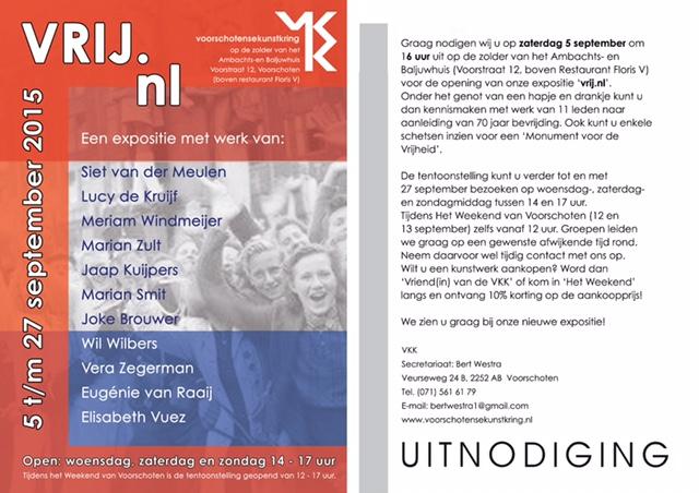 expo vrij nl in Voorschoten met Meriam Windmeijer