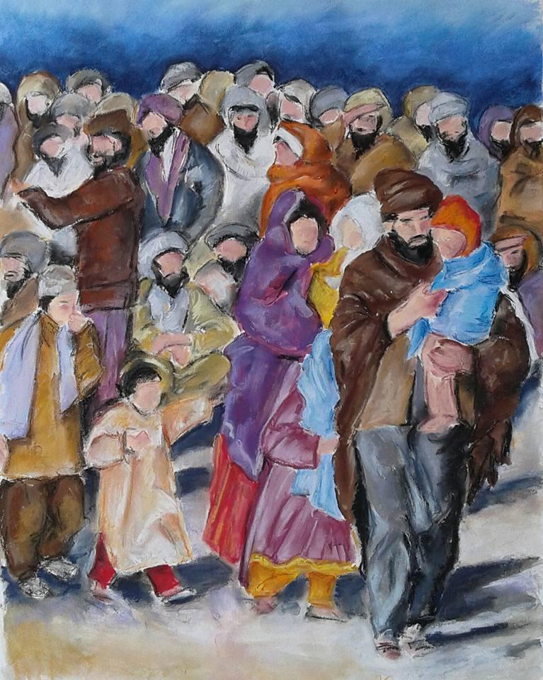 barbara-gelcich-vluchtelingen-kunstpost