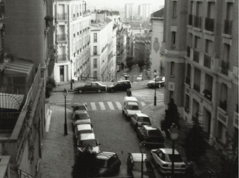 Gilbert Verhoeven: Rue Norvins, paris LOOkatie364 kunstpost galerie den haag mariahoeve kunst fotografie